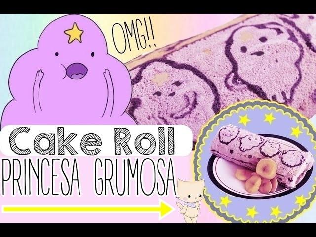 Roll Cake -De la PRINCESA GRUMOSA. postre fácil ♥