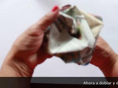 Rosa de Papel Diario por Silvia Ramos