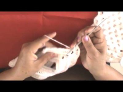 Tutorial - Abrigo tejido para bebé [Parte 2] ¡Especial 1k Subs!