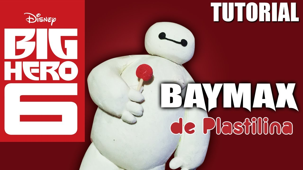 Tutorial Baymax (Big Hero 6) de Plastilina. clay. porcelana fria. cold porcelain