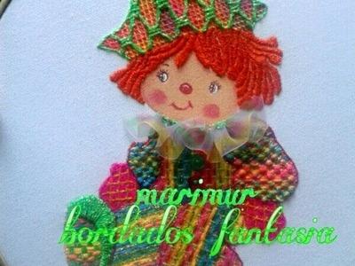 BORDADO FANTADIA DIA DEL NIÑO POR ALUMNAS DE MARIMUR  465
