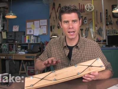 Cómo hacer una antena de TV casera. Steadycam o estabilizador de cámara casero