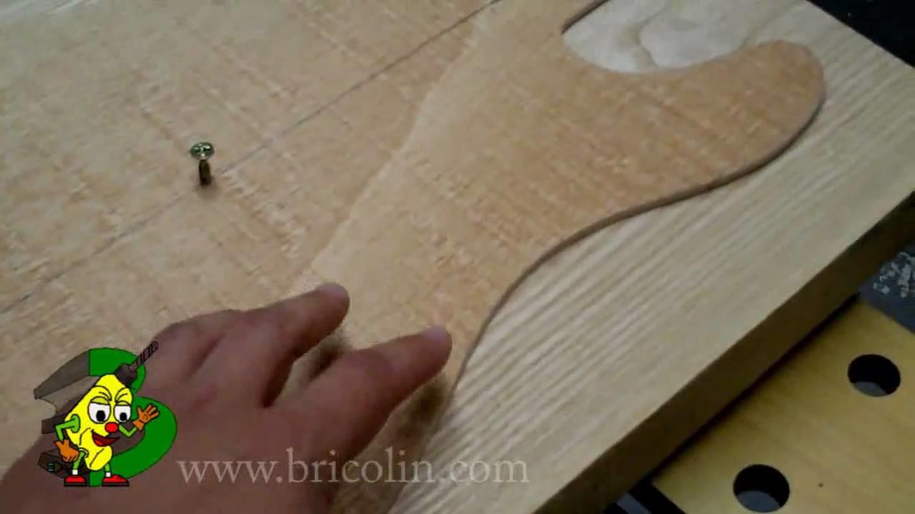 Cómo hacer una guitarra eléctrica (Parte 1) - Bricolaje y trucos Bricolin