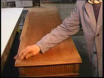 Como restaurar el barnizado de un mueble clásico