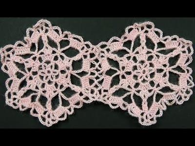 Crochet : Hexágono # 2. Uniones