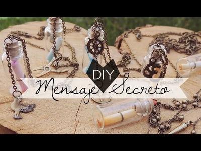 DIY | Botellita Mensaje Secreto | Regalo para mi novio o amiga