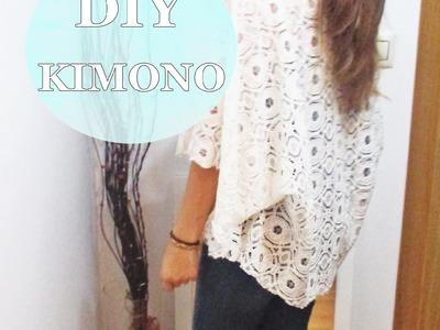 ✂ DIY- Kimono de encaje. Nerea Iglesias