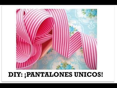 DIY Pantalones con estilo