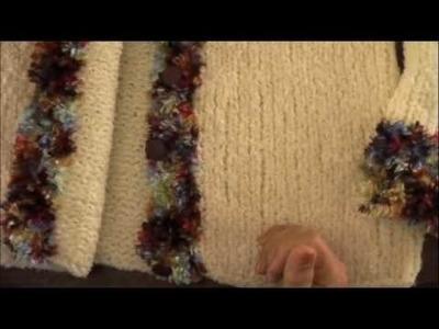 Dos agujas: cómo tejer orillos en las prendas tejidas