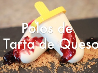 Helados de Tarta de Queso - Cheesecake Popsicles