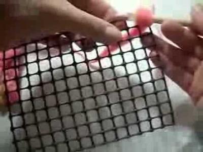 Instrucciones aguja nuk para hacer alfombras