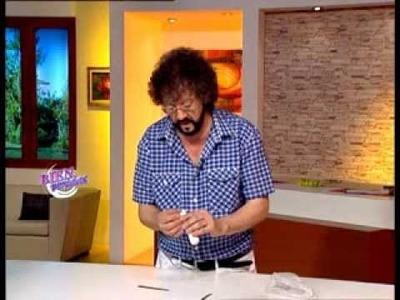 Jorge Rubicce - Bienvenidas TV - Modela la pierna de un bebé en porcelana fría