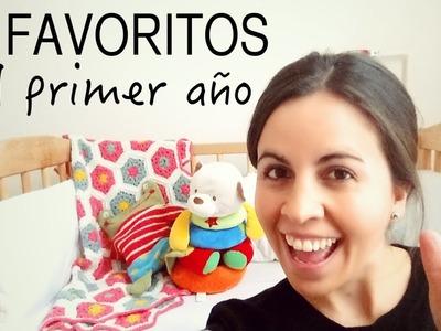 Mis 10 favoritos del PRIMER AÑO del bebé