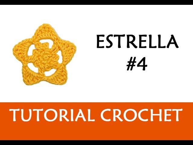 PATRÓN CROCHET: ESTRELLA #4 | Patrones Valhalla