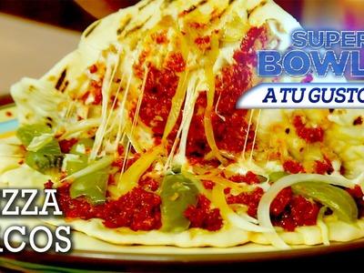 Pizzas-Tacos, tu Touchdown para el Super Bowl - El Guzii
