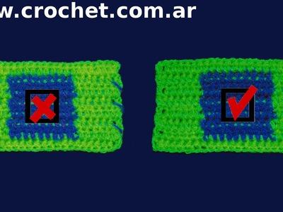 Secreto Tip Truco o Consejo del  tejido crochet tutorial paso a paso.