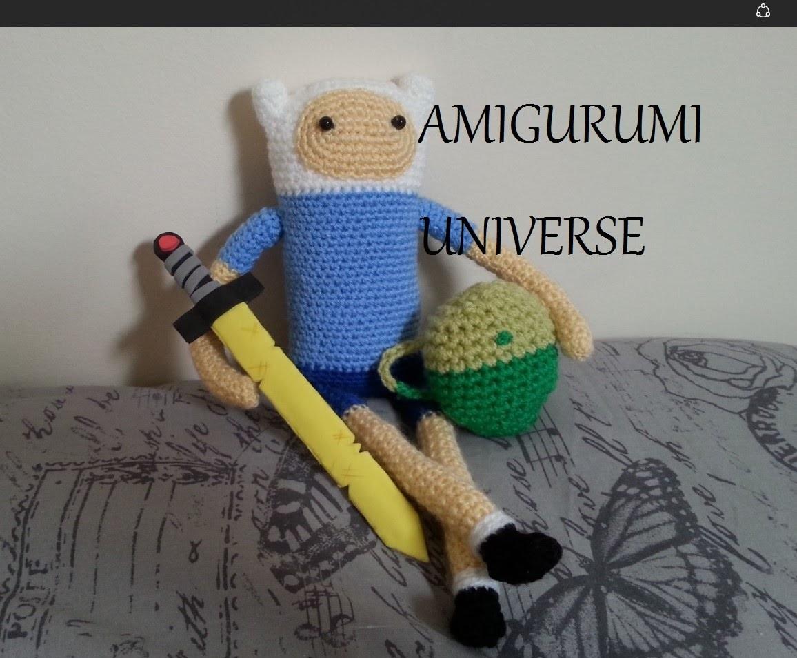 Tutorial mochila de Finn Hora de Aventuras por Amigurumi.Universe (HD)