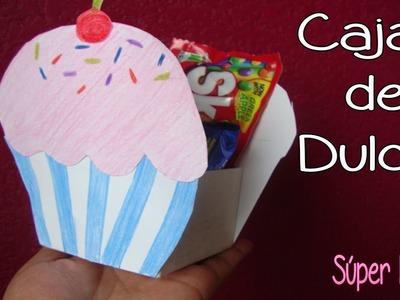 Caja de Dulces. centro de mesa para cumpleaños