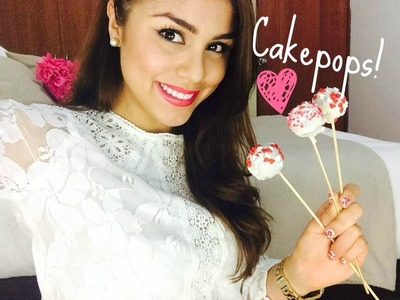 Cakepops de Brownie para San Valentin- SOLO 5 INGREDIENTES!