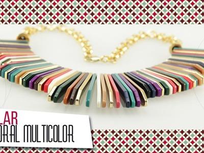 Collar pectoral multicolor | VARIEDADES CAROL