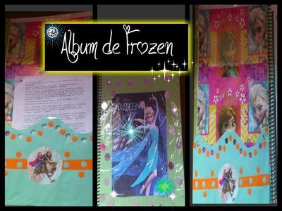 Como hacer un album de frozen♥