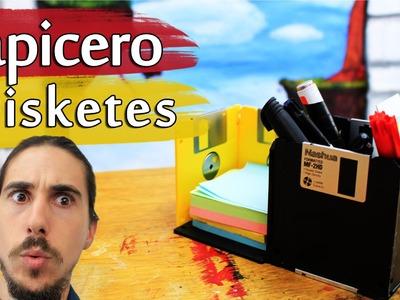 Cómo hacer un Lapicero de Disketes
