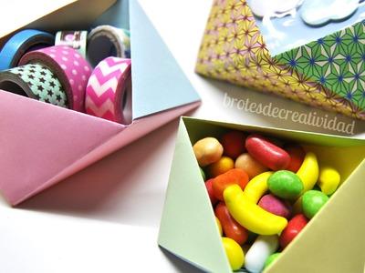 DIY : Cuencos Organizadores En Origami - Brotes De Creatividad