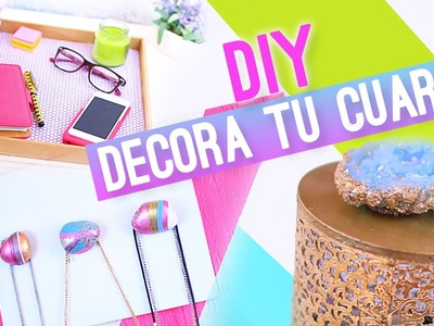 DIY IDEAS PARA DECORAR TU CUARTO ♥ Jimena Aguilar (Colab. Nancy Loaiza)