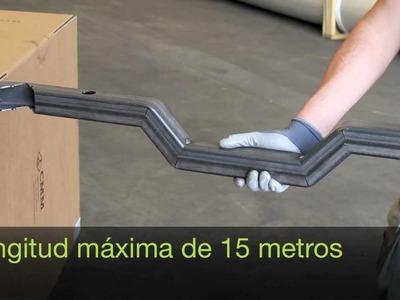 Doblar tubos de acero sin dobladora | CMM laser