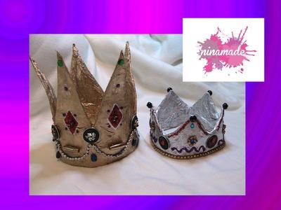 Manualidad para niños: Como hacer una corona de los Reyes Magos,
