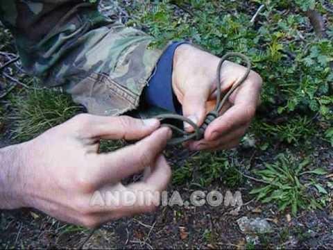Nudo de horca o dogal de verdugo - Hangman's knot - Nó de forca - Supervivencia - Survival