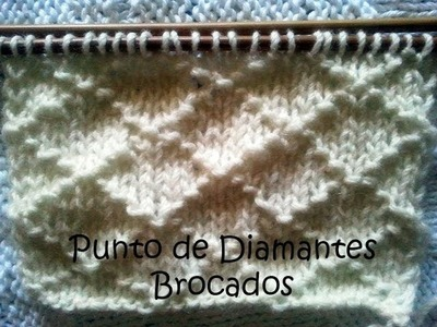 Punto de Diamantes Brocados  Soy Woolly Clase 50