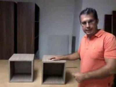 Sistema Fijación de Cubos Repisas