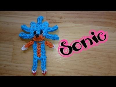 Sonic de gomitas con telar y saludos