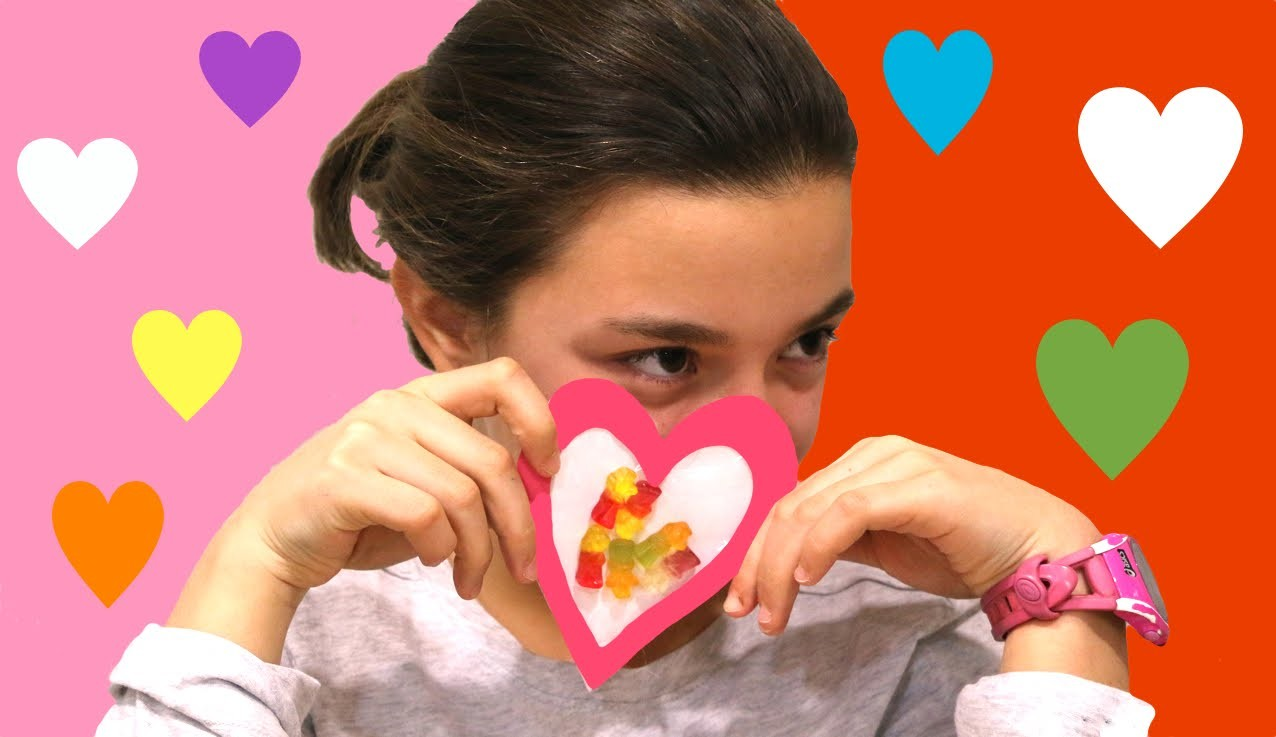Tarjeta de San valentín. Sweet Valentine's card