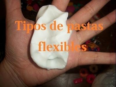 Tipos de pastas flexibles.pasta de sal.porcelana fria
