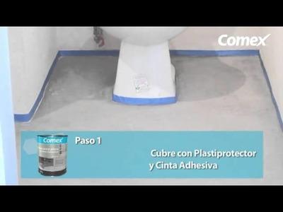 Ultrafácil-Pintura para pisos de Comex Industrial Coatings