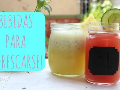 Bebidas Refrescantes! ♡ -♥Angy