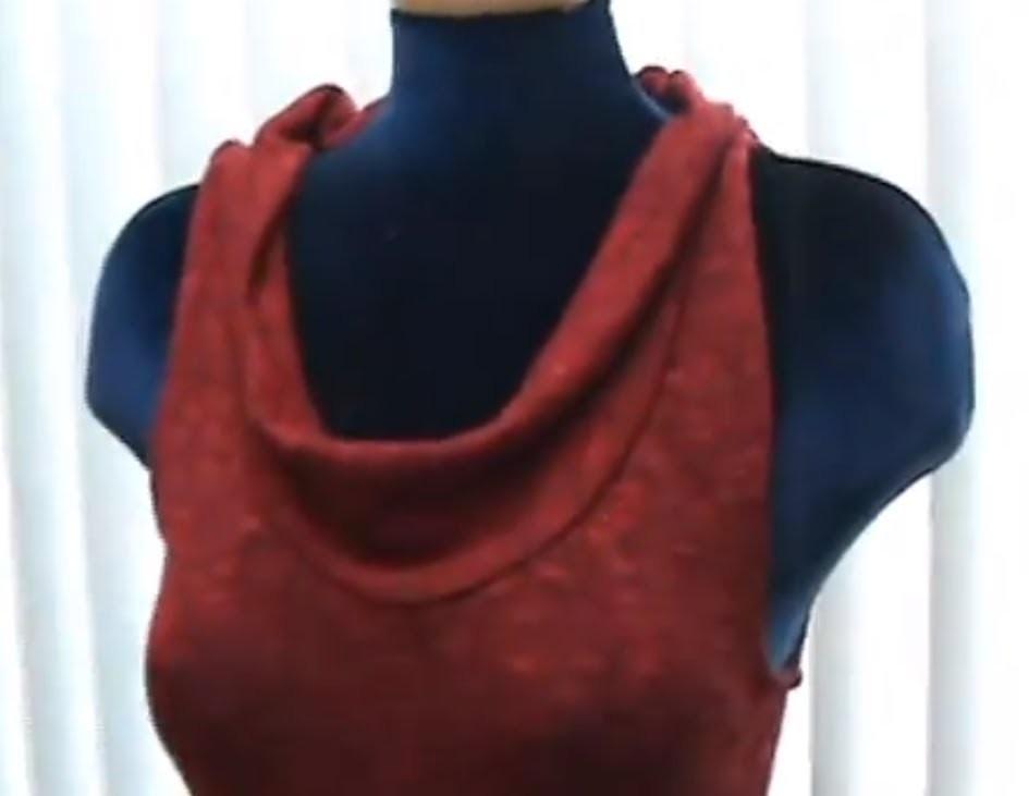 Blusa Cuello Caido