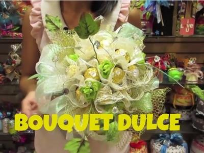 Bouquet de dulces y saludos