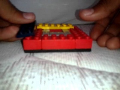 Como hacer cosas de lego 1