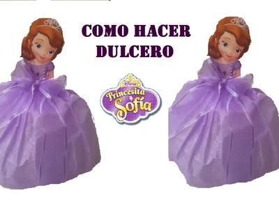 COMO HACER DULCERO DE PRINCESITA SOFIA