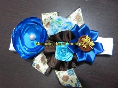 Como hacer flores  lazos faciles  para decorar accesorios paso a paso 328