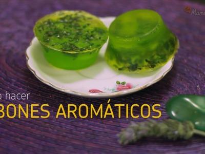 Cómo hacer jabones aromáticos