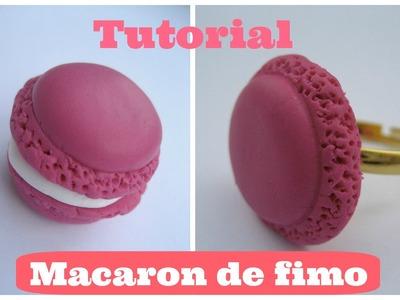 Cómo hacer un Macaron de fimo. How to make a Fimo macaron