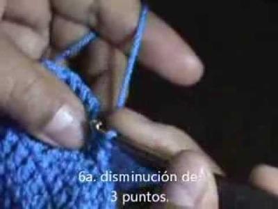Cómo tejer un suéter para dama. 6 parte (las mangas #3)
