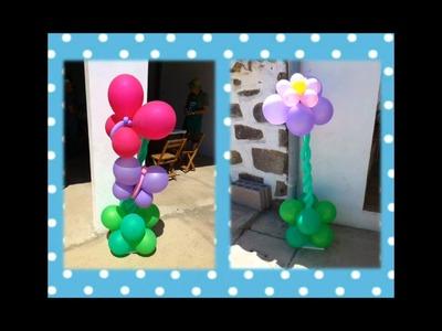 Decoración fiesta infantil Jardín de Flores