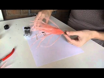 DIY Colgante con plumas