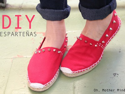 DIY Customiza tus esparteñas para este verano!!!
