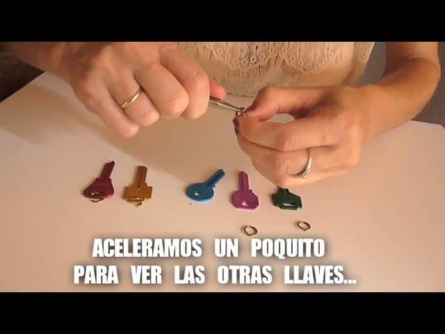 DIY Hazte un collar  con un llavero